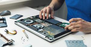パソコンの分解修理