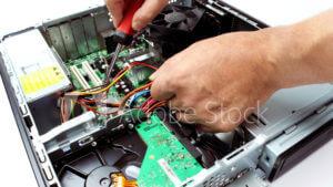デスクトップパソコンの分解整備