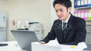 会社員のパソコンワーク